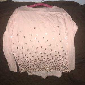 Girls Star Shirt long sleeve tee